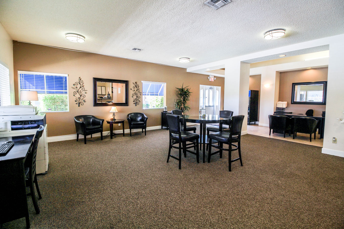 Silver Stream Apartments Office Lobby