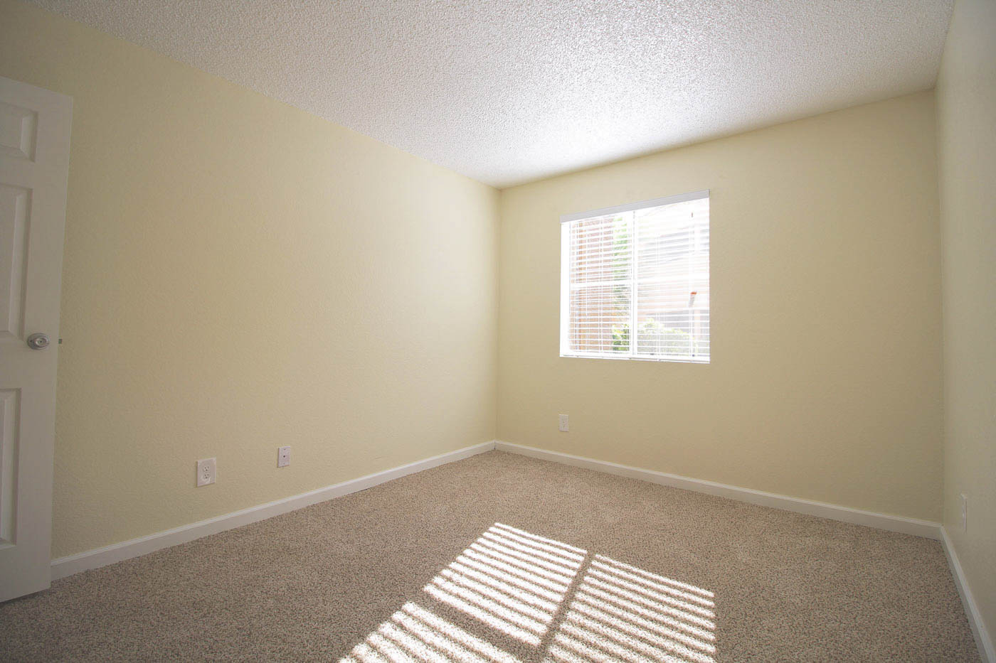 Bedroom at Silver Stream Apartments.